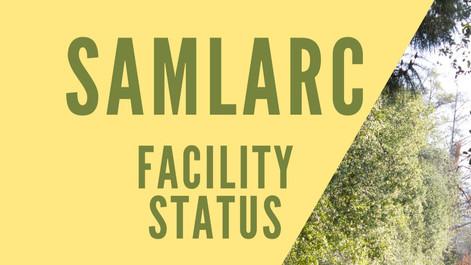 Facilities Open/Closure Status – October 23, 2020