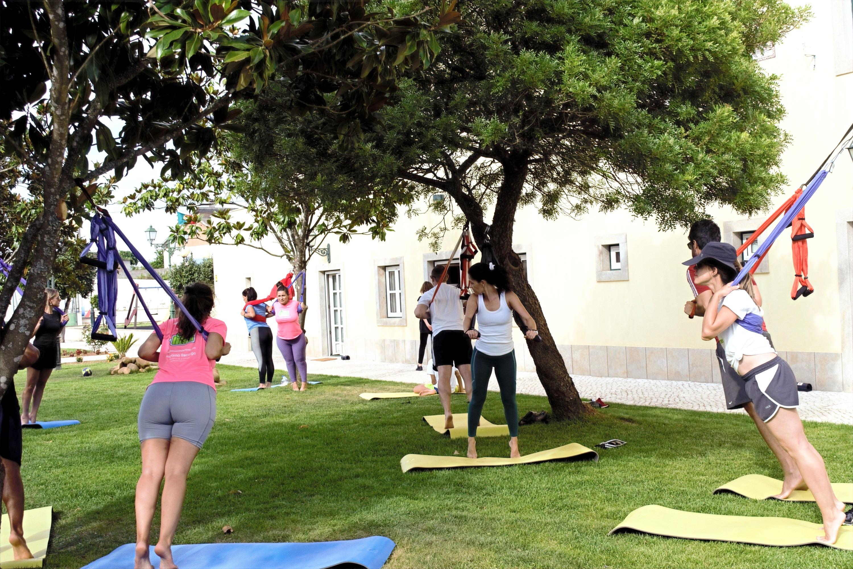 Aula de Yoga de Panos - Programa Recarga