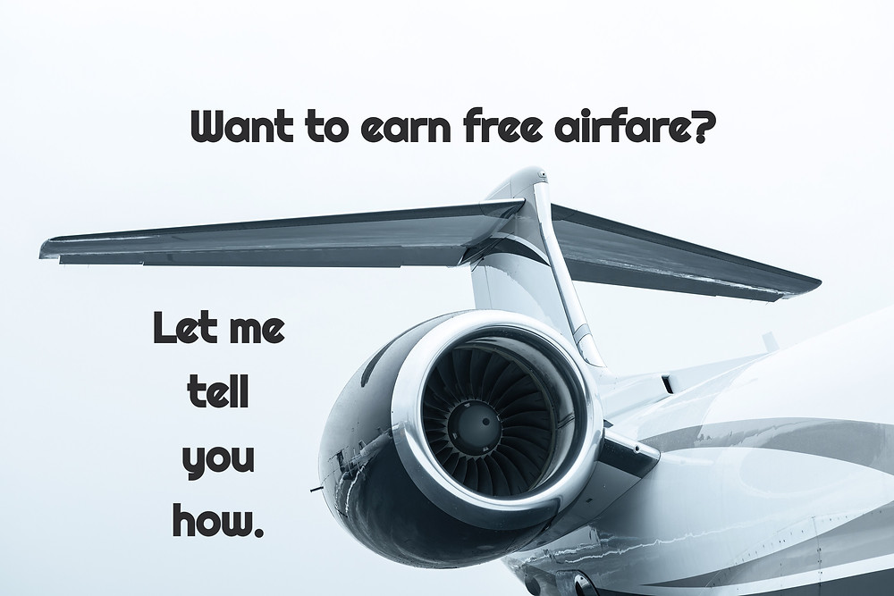Want to earn free airfare? Let me tell you how. Fly for free with airline royalty programs. Fly for free with American Airlines points, how to earn mileage points with American Airlines.