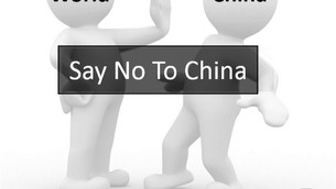 Say NO to China - Boycott Chinese Products