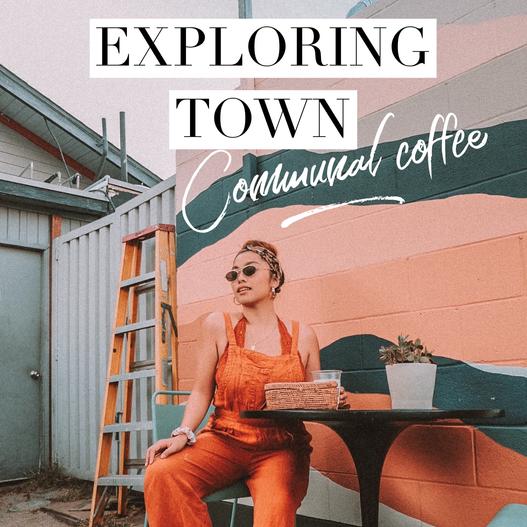 Exploring town