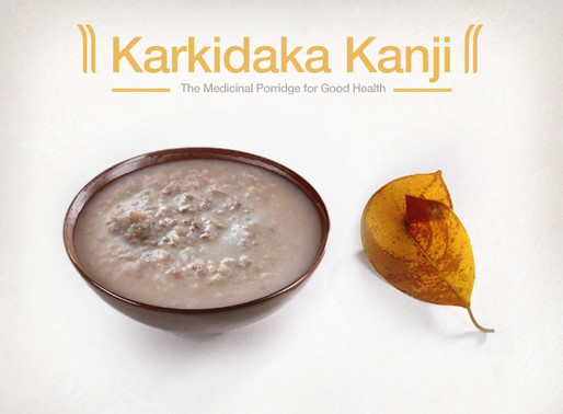 Karkidaka Kanji - the healthy food for monsoon