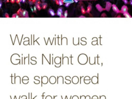 Join Mel on a Girls Night Out to Support St Elizabeth Hospice