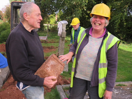 Unknown Tomb Discovered at the Morgan Church, Stoke Lacy.