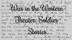 War In The Western Theater: Soldier Stories (Three Civil War Captains)