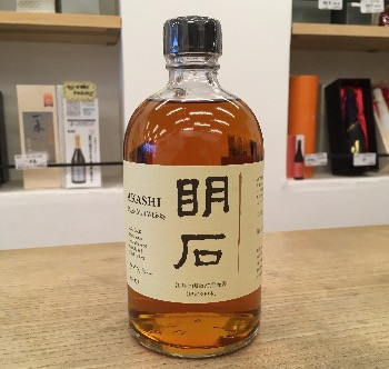 明石 日本酒カスク4年 - Akashi Single Malt Whisky aged in Sake casks