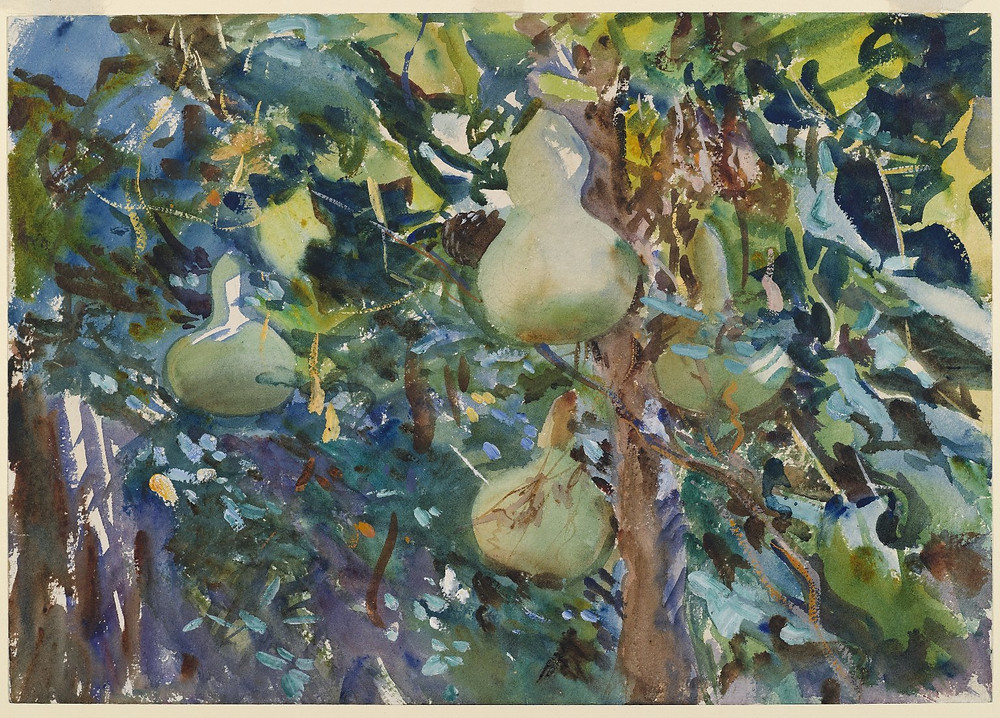 Gourdes, 1908, 31 x 56cm, Brooklyn Museum