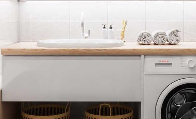 drop-in sink. bathroom interior design tips. lakkad works