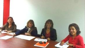 """Reunión de coordinación del proyecto """"Apoyo al Fortalecimiento del MIMP"""""""