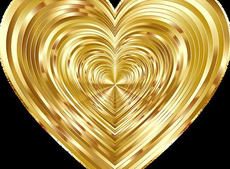 Réveillon festif dans la conscience du coeur