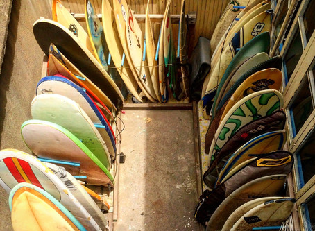 Surfboards? Somebody said surfboards?
