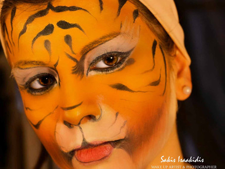 Face & Body Painting Seminars                by Sakis Isaakidis Beauty Salon
