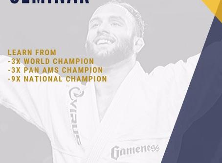 Samir Chantre Seminar at Overall Brazilian Jiu-Jitsu Academy - Nicollas Welker Araujo