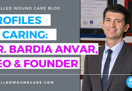 PROFILES IN CARING: DR. BARDIA ANVAR, CEO & FOUNDER