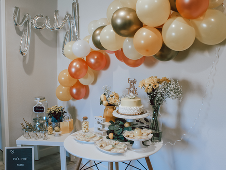 Lemon Themed 1st Tooth Party