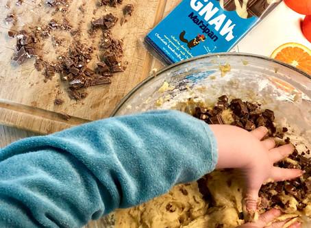 """Recette de cookie gourmand avec notre tablette """"Marzipan"""""""