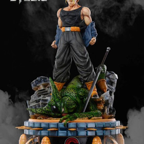 IMPRESIONANTE ESTATUA BASADA EN TRUNKS DE DRAGON BALL Z