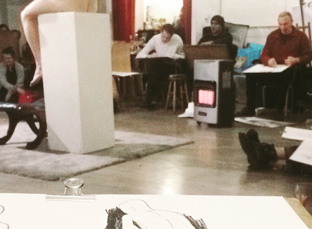 My First Life Drawing Session