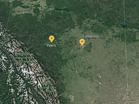 Tornado Confirmed in Alberta, West of Edmonton on Wednesday, April 24th, 2019