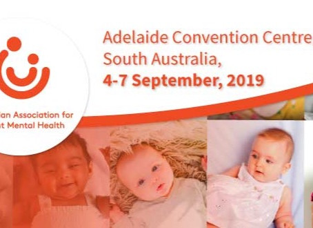 Presenting at the Australian Infant Mental Health Conference (AAIMH) in Adelaide