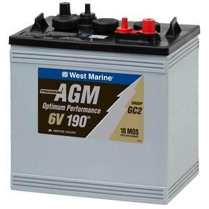 Factory Second AGM Batteries