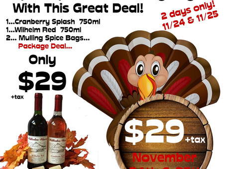 """""""SPICE UP YOUR THANKSGIVING""""-PACKAGE DEAL"""