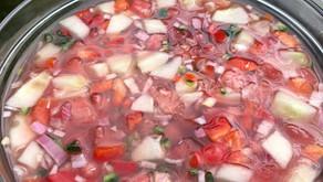 Cooling Watermelon Gazpacho