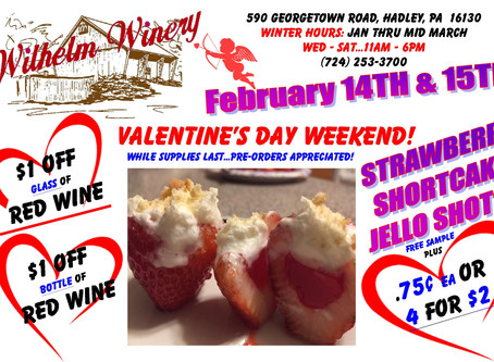 VALENTINE'S WEEKEND-STRAWBERRY SHORTCAKE JELLO SHOTS!