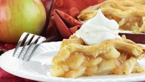 Zdravý jablečný koláč bez mouky