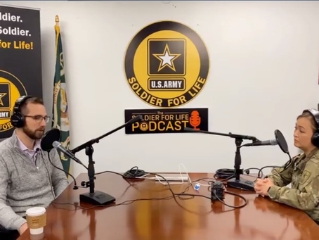 CEO Ryan Pavel on U.S. Army Soldier for Life Podcast