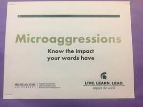 """LATEST: MSU Places Microaggression Boards for Students to Handle """"Harmful Language"""""""