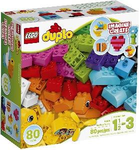 Lego Duplos building blocks for preschoolers and toddlers.