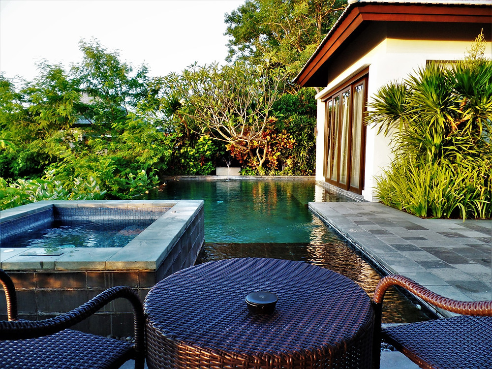 Ungasan villa, one bedroom villa, BanyanTree Bali