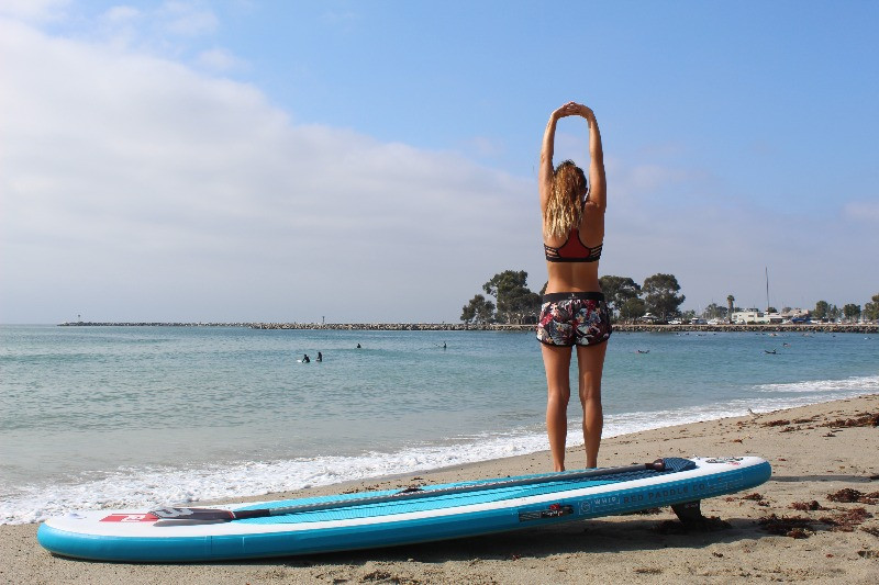 Doheney State Beach, PaddleXaminer, Rebecca Parsons, standup paddling