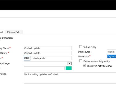 Mass Update using D365 Import Tools