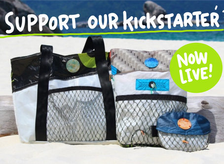 100% Upcycled Bags This July!