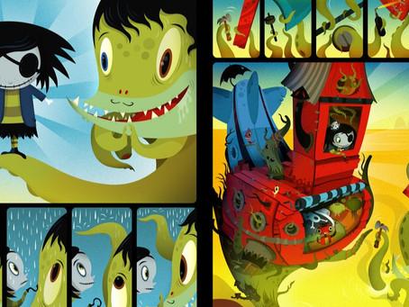 Quadrinhos Sem Fronteiras - Scarygirl