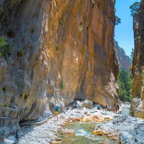 Samaria Gorge | Chania Crete | The Iron Gates