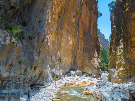 Samaria Gorge | Chania Crete | The Iron Gates