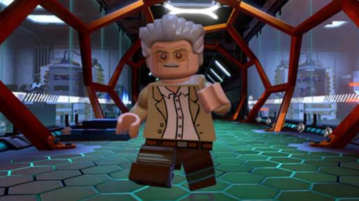 Stan Lee in Lego Marvel Superheroes (Source: Traveller's Tales)