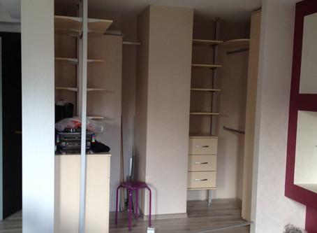 Маленькая квартира: Как сделать гардеробную