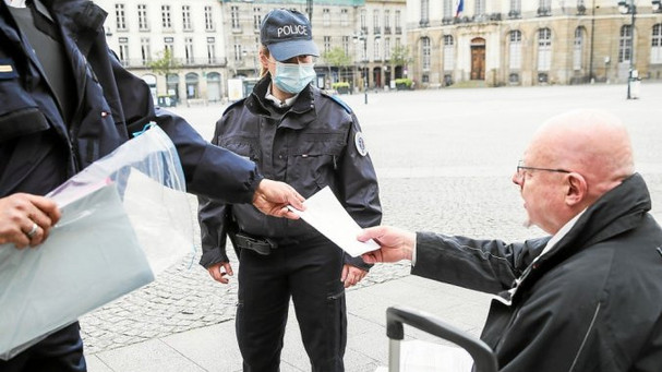 POLICE - En plus des mesures barrières, des mesures administratives contraignantes