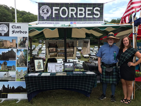 Clan Forbes Well-represented at 2019 Grandfather Mountain Highland Games
