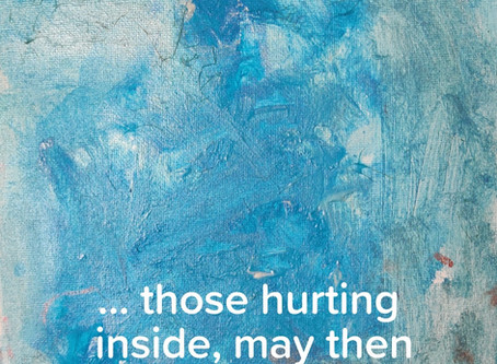 Those that are hurting, often hurt others...
