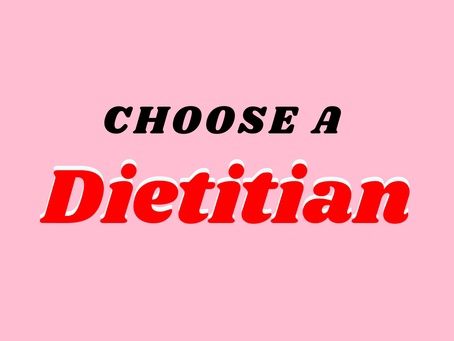 Dietitians Are Equipped to Help