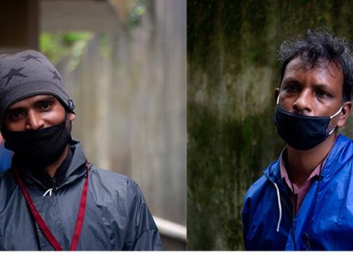 Darjeeling COVID Heroes: Anil Sharshar and Shiv Chandra Ram