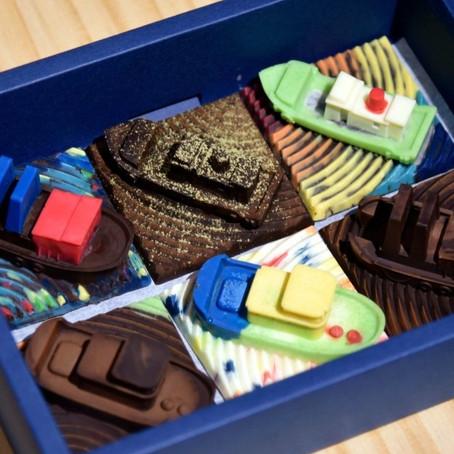 [工作坊日記] 鑄出一艘屬於你的巧克力船