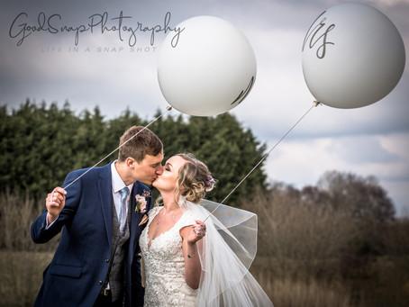Hannah and Mathew's Wedding at Delamere!