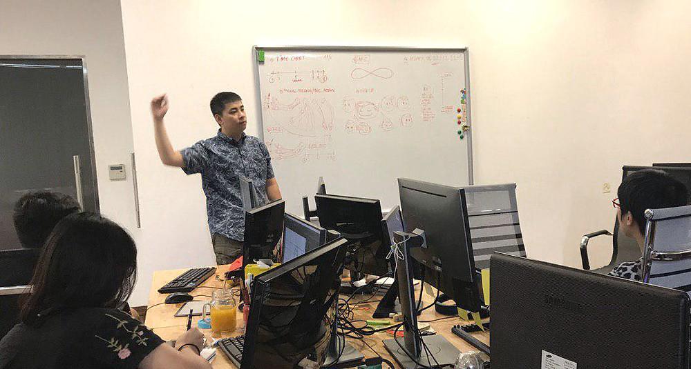 Văn phòng làm việc tại Hà Nội của DeeDee Animation Studio