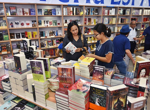 Feria Internacional del libro 'Guayaquil es mi destino' se realizará del 24 al 27 de este mes